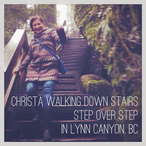 Christa Couture in Lynn Canyon